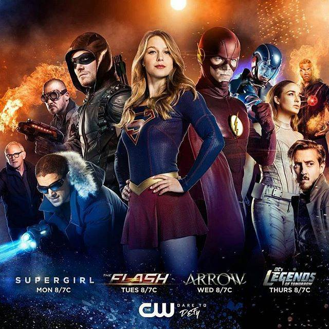 Flash, Arrow, Supergirl ve Legends of Tomorrow fragmanları yayınlandı